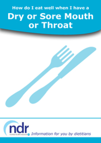 How Do I Eat Well when I have a Dry or Sore Mouth or Throat?
