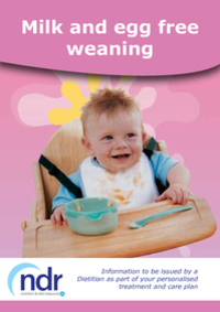 Milk and Egg-Free Weaning