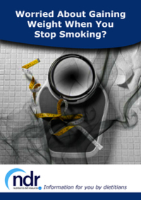 Worried About Gaining Weight When you Stop Smoking?