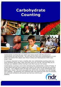 An Introduction to Carbohydrate Counting