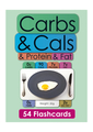 Carbs, Cals, Protein and Fat Flashcards