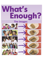 What's Enough? IMAGES CD