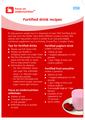 Fortified drink recipes