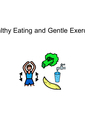 Healthy Eating and Gentle Exercise