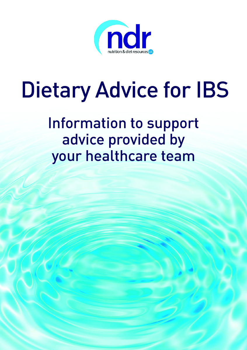 diet advice for ibs